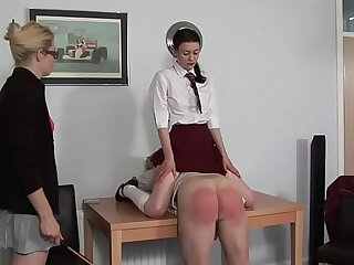 Spanking fetish porn: spankees and spankers enjoy OTK action and more