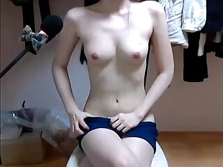 korean webcam show her perfect body. full video