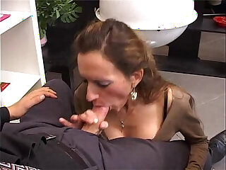 secretary fuck in the ass in the office