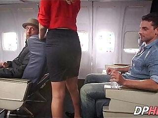 Slutty flight attendant