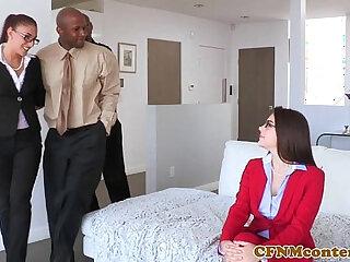 Cfnm femdom Valentina Nappi ass fucked