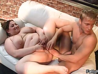 Her fat pussy fucked and fisted