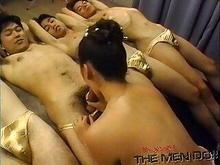 Sperm bukkake showers Japanese Uncensored Bukkake