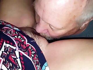My friend Brett OWNS Agness my pussy