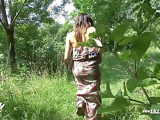 German Teen Lost Way And Gets Fucked In The Woods