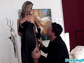 Glamour babe big black cock in all holes