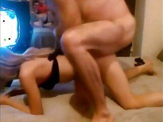 Homemade Swinger Cuckold Threesome Creampie Compilation