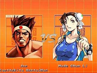 MuGeN Joe Beats Chun Tight Pussy