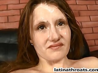 Kandy Reign swallows two big cocks on Latina Throats