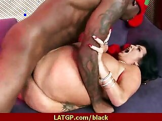 Huge mamba black dong in my moms tight pussy