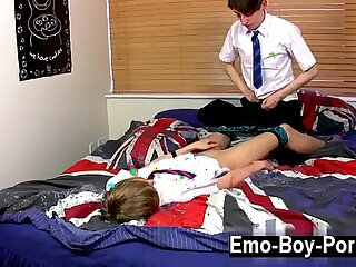 Hardcore gay Ethan Knight and Brent Daley are mischievous students