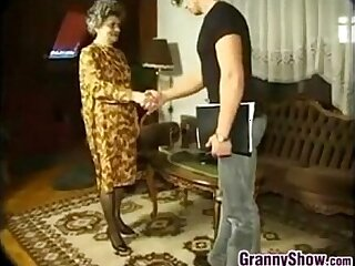 Granny Having Sex With Young Guy