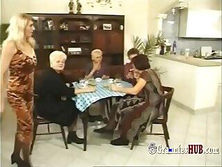 Kinky German Grannies Group Sex Perversion