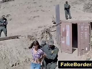 Kinky euro girl forced to fuck police officer
