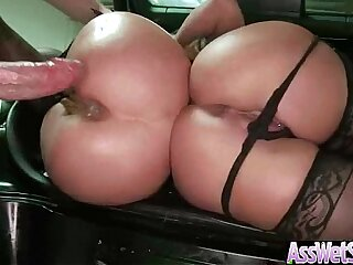 Girl With big butt Oiled Wet Ass Get Her Butt Nailed movie