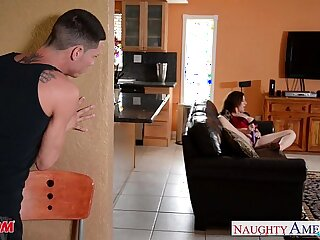 Sexy mom Sara Jay gets her ass fucked and facialized