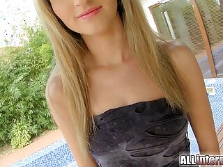 AllInternal Anal and creampie for this ass gaping teen