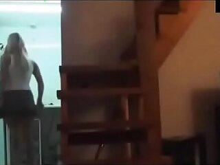 Fucking my step mom caught on spy camera