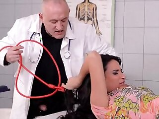 Beautiful French Girl gets Fucked real good in Clinic Pt.