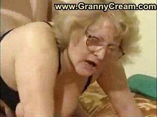 fat granny in glasses