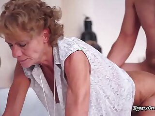 Mary is a granny that keeps on fucking