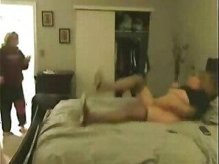 Ooooopss... naty mom masturbating caught by son