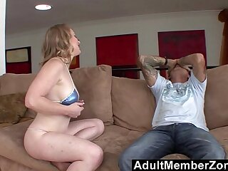 AdultMemberZone She skips school and fucks step dad for homeworks